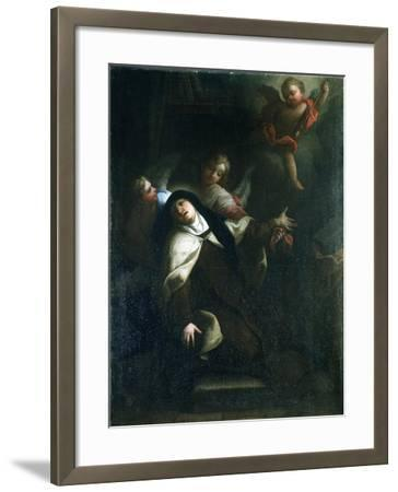 St Theresa of Avila, C1634-1689-Thomas Blanchet-Framed Giclee Print