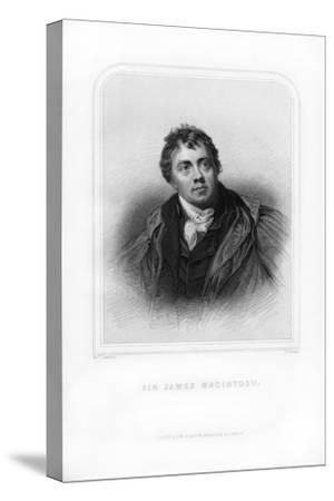 Sir James Mackintosh, Scottish Writer and Philosopher-S Freeman-Stretched Canvas Print