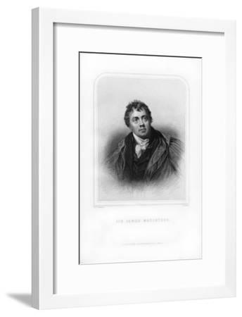Sir James Mackintosh, Scottish Writer and Philosopher-S Freeman-Framed Giclee Print