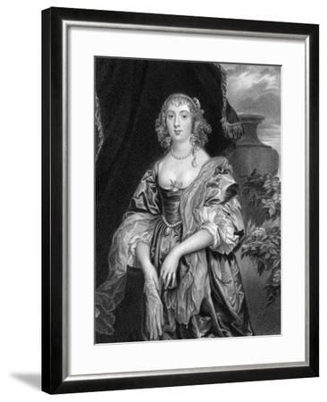 Anne Carre, Countess of Bedford, 1824-S Freeman-Framed Giclee Print