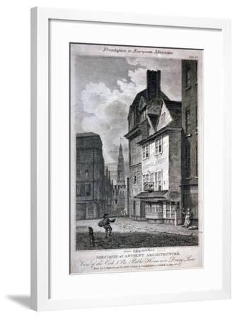 The Cock and Magpie Public House, Drury Lane, Westminster, London, 1807-Samuel Rawle-Framed Giclee Print