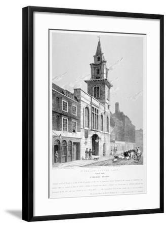 Church of St Vedast Foster Lane, City of London, 1814-Samuel Rawle-Framed Giclee Print