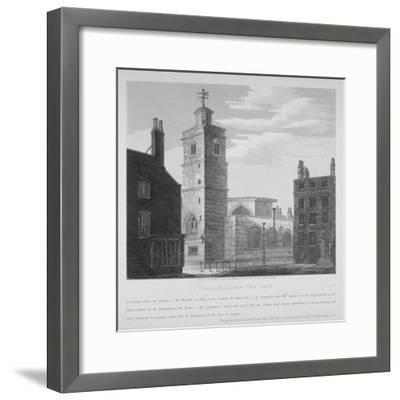 Church of St Bartholomew-The-Less, City of London, 1814-S Jenkins-Framed Giclee Print