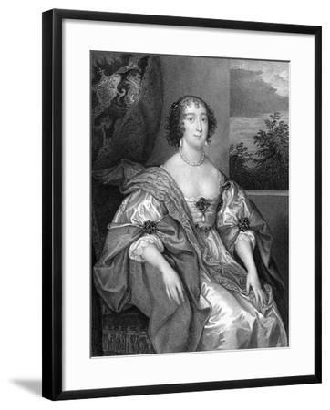 Dorothy Sidney (Nee Perc), Countess of Leicester (C1598-165), 1824-TA Dean-Framed Giclee Print