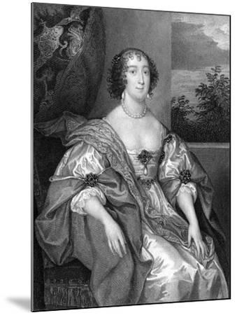 Dorothy Sidney (Nee Perc), Countess of Leicester (C1598-165), 1824-TA Dean-Mounted Giclee Print