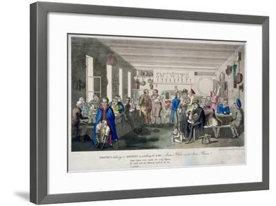Proteus Taking a Benefit According to Law, 1825-Theodore Lane-Framed Giclee Print