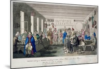 Proteus Taking a Benefit According to Law, 1825-Theodore Lane-Mounted Giclee Print