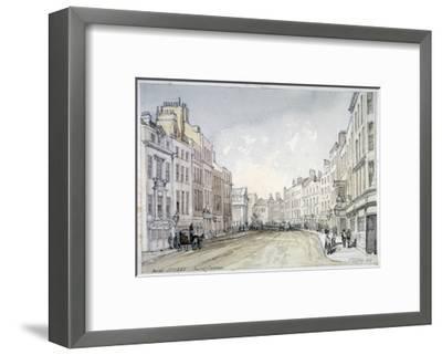 Bow Street, Westminster, London, 1851-Thomas Colman Dibdin-Framed Giclee Print
