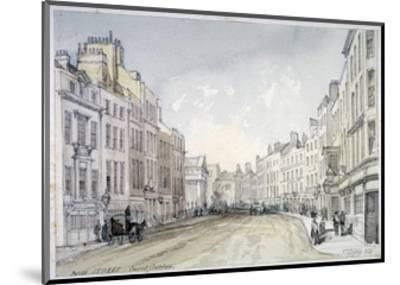 Bow Street, Westminster, London, 1851-Thomas Colman Dibdin-Mounted Giclee Print