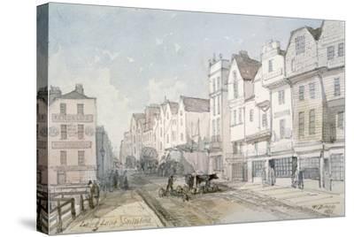 Long Lane, City of London, 1851-Thomas Colman Dibdin-Stretched Canvas Print