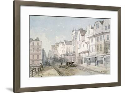 Long Lane, City of London, 1851-Thomas Colman Dibdin-Framed Giclee Print