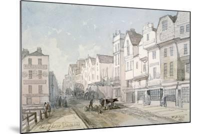 Long Lane, City of London, 1851-Thomas Colman Dibdin-Mounted Giclee Print