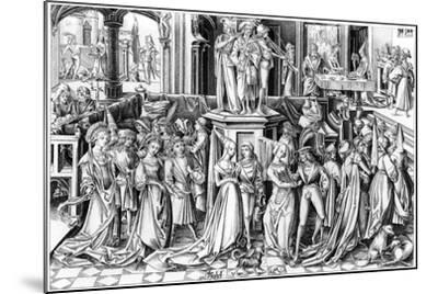 The Feast of Salomé, C1490s- Rosotte-Mounted Giclee Print