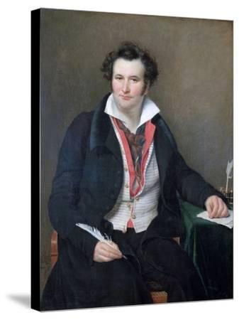 Portrait of Bernard Wolf, C1823-Sophie Rude-Stretched Canvas Print
