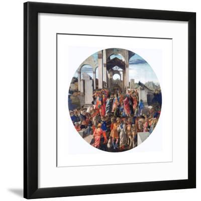 The Adoration of the Kings, C1470-1475-Sandro Botticelli-Framed Giclee Print