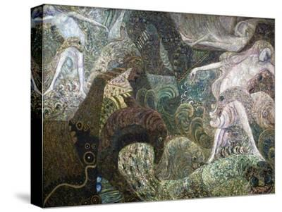 Sea Bottom, Late 19th or Early 20th Century-Vasily Ivanovich Denisov-Stretched Canvas Print