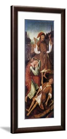 Adam and Eve Crying over the Body of Able, C1440-1495-Vrancke van der Stockt-Framed Giclee Print