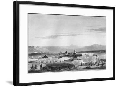 The Battle of Citate, During the Crimean War, 1854-W Hulland-Framed Giclee Print