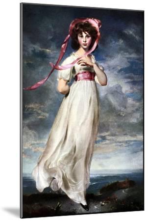 Sarah Barrett Moulin (Pinkie), 1794-Thomas Lawrence-Mounted Giclee Print