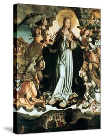 Assumption of the Virgin, C1491-1518-Vicente Gil-Stretched Canvas Print