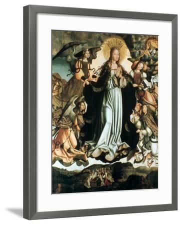 Assumption of the Virgin, C1491-1518-Vicente Gil-Framed Giclee Print
