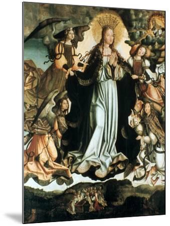 Assumption of the Virgin, C1491-1518-Vicente Gil-Mounted Giclee Print