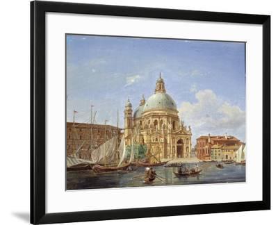 The Santa Maria Della Salute Church, 19th Century-Victor Adam-Framed Giclee Print