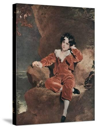 Master Lambton, 1825-Thomas Lawrence-Stretched Canvas Print