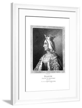 Blanche of Castile (1188-125), Niece to King John-Thomas Trotter-Framed Giclee Print