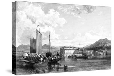 Isola Bella, Lago Maggiore, Italy, 19th Century-W Miller-Stretched Canvas Print