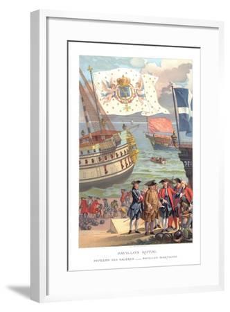 Royal Flag, Galleon Flag and Traders Flag- Urrabieta-Framed Giclee Print