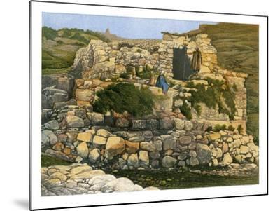 The Well of En-Rogel, Jerusalem, C1870-W Dickens-Mounted Giclee Print