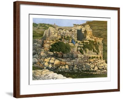 The Well of En-Rogel, Jerusalem, C1870-W Dickens-Framed Giclee Print