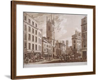 Bank of England, Threadneedle Street, London, 1781-Thomas Malton II-Framed Giclee Print