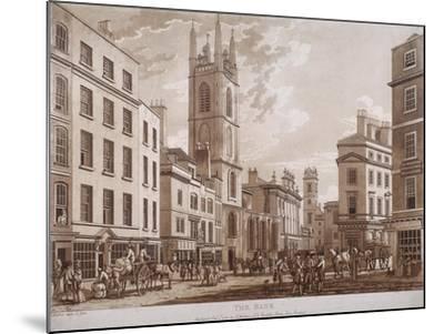 Bank of England, Threadneedle Street, London, 1781-Thomas Malton II-Mounted Giclee Print