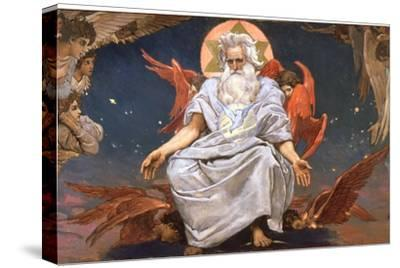God the Father, 1885-1896-Viktor Mihajlovic Vasnecov-Stretched Canvas Print