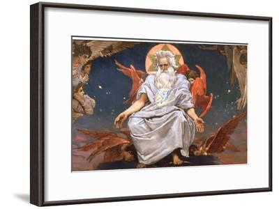 God the Father, 1885-1896-Viktor Mihajlovic Vasnecov-Framed Giclee Print