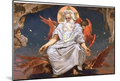 God the Father, 1885-1896-Viktor Mihajlovic Vasnecov-Mounted Giclee Print