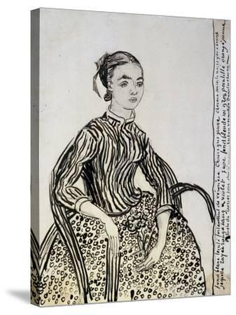 Portrait of a Young Lady (La Mousm), 1888-Vincent van Gogh-Stretched Canvas Print