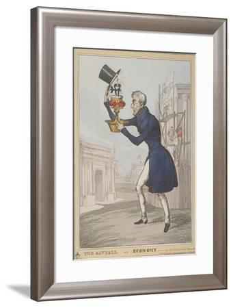 The Saveall, or Economy, 1828-Thomas McLean-Framed Giclee Print
