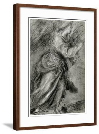 Angel of the Annunciation, C1565-Titian (Tiziano Vecelli)-Framed Giclee Print