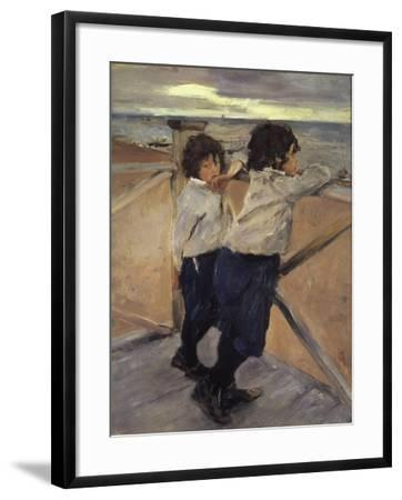 Children, 1899-Valentin Serov-Framed Giclee Print