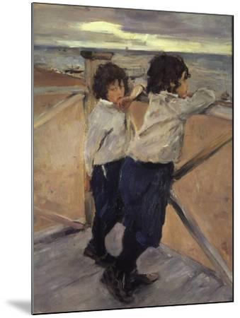 Children, 1899-Valentin Serov-Mounted Giclee Print