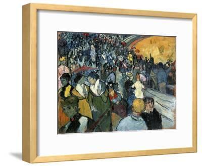 The Arena at Arles, 1888-Vincent van Gogh-Framed Giclee Print