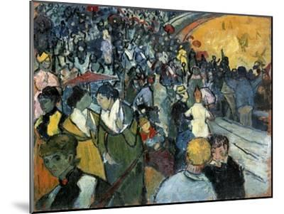 The Arena at Arles, 1888-Vincent van Gogh-Mounted Giclee Print