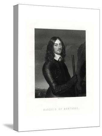 James Graham, 1st Marquess of Montrose, Scottish Nobleman and Soldier, 19th Century-W Holl-Stretched Canvas Print