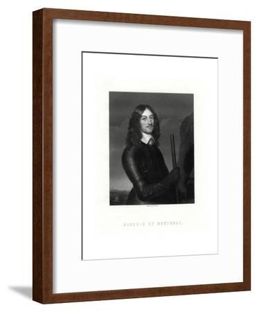 James Graham, 1st Marquess of Montrose, Scottish Nobleman and Soldier, 19th Century-W Holl-Framed Giclee Print