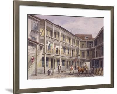 Aldgate High Street, London, C1850-Thomas Hosmer Shepherd-Framed Giclee Print