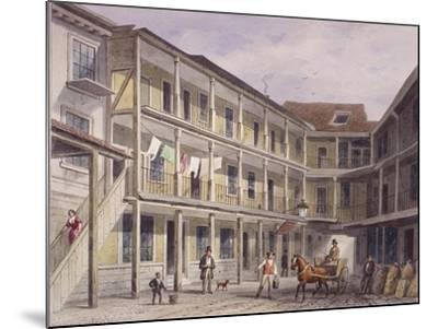 Aldgate High Street, London, C1850-Thomas Hosmer Shepherd-Mounted Giclee Print