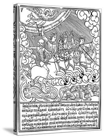The Four Horsemen of the Apocalypse, 1692-1696-Vasili Koren-Stretched Canvas Print